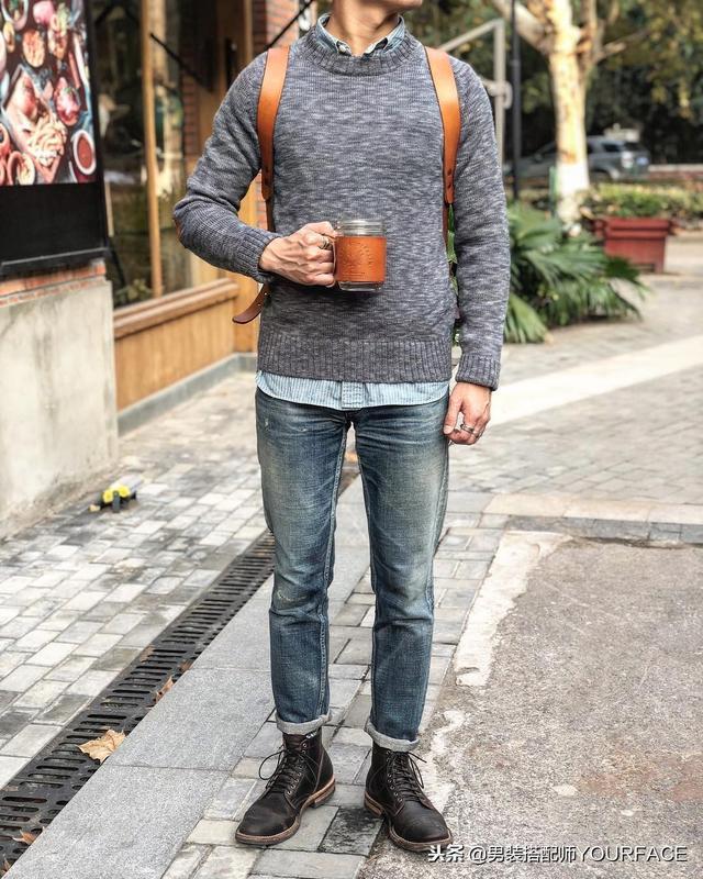 男生冬季轻商务休闲风搭配指南,2019年这样的穿搭会是流行趋势