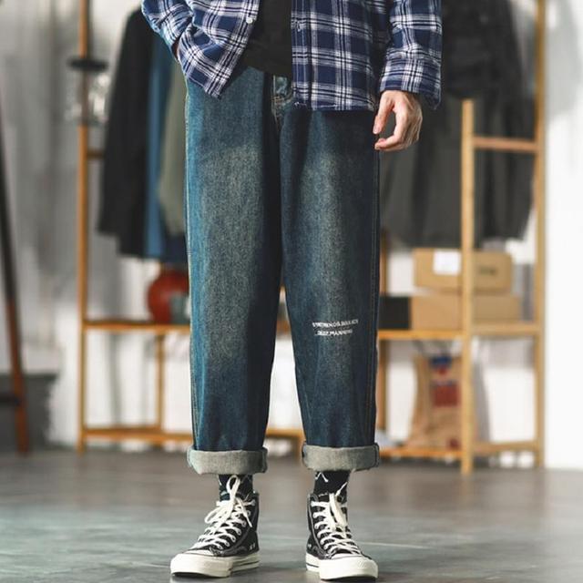男生想要轻松出街,一款百搭的裤子很重要
