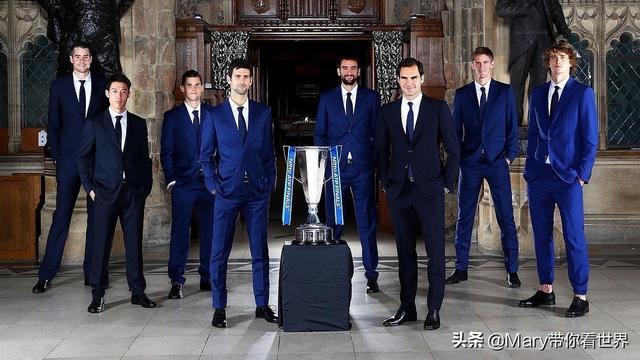 网球运动员人均男模身材,太养眼了吧!西装男团考虑出道吗?