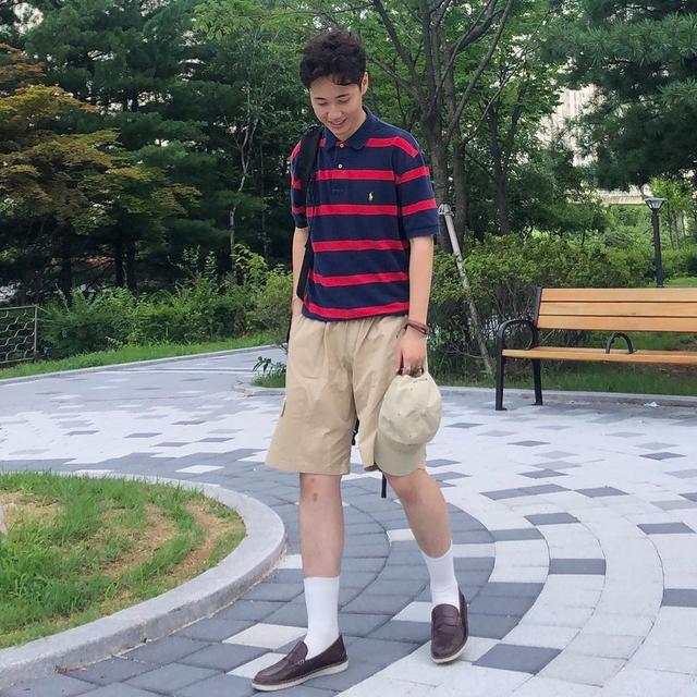 男生夏日有这5套短裤穿搭就够了,帅气阳光颜值高